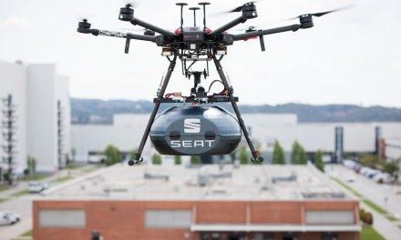 Seat y Grupo Sesé, conectados por dron