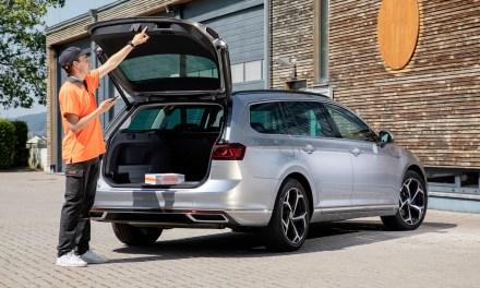 Volkswagen y Nacex entregan paquetes en el maletero de tu coche