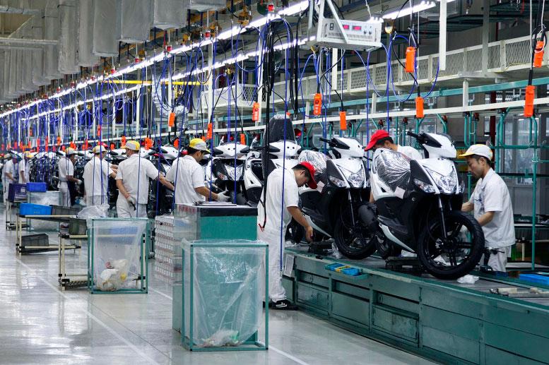 Nueva fábrica KYMCO en China