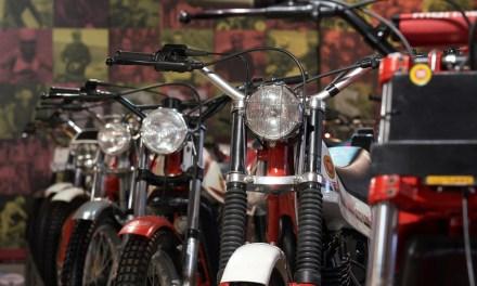 Exposición de la historia de Montesa en el Museu de la Moto de Bassella