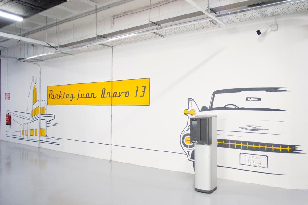 Parking totalmente electrificado Juan Bravo13