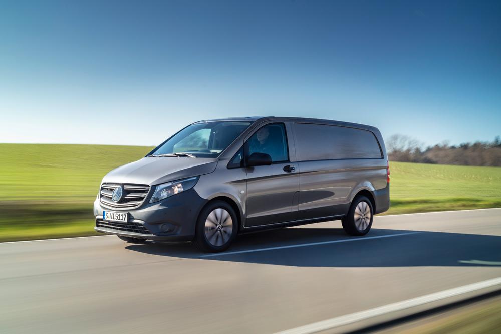 La furgoneta Vito de la planta Mercedes-Benz de Vitoria cumple 25 años