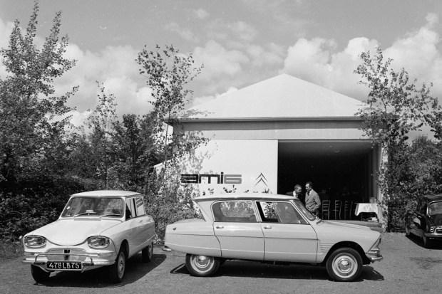 Citroën Ami 6 presentación 1961