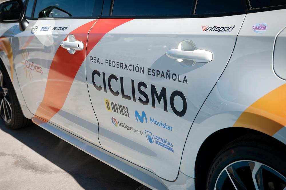 Toyota patrocinador de la Real Fedaración de Ciclismo