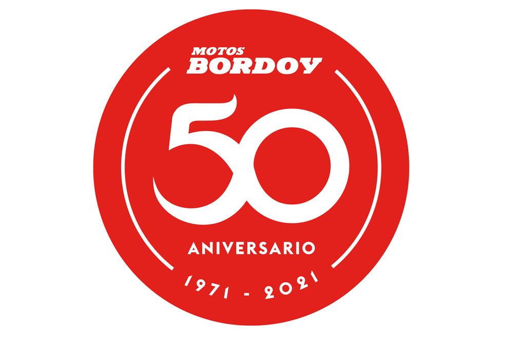 Logo Oficial 50º Aniversario Motos Bordoy