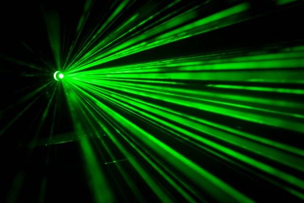 Rayo láser verde