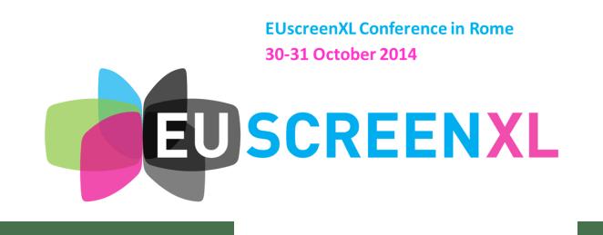 EUscreenXL Rome