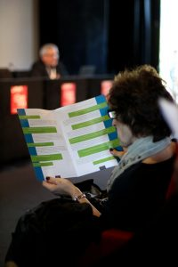 Picture taken at the conference by Maria Drabczyk/Quirijn Backx