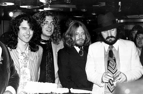 """From the movie première """"The Song Remains The Same"""" in London 4 november 1976"""