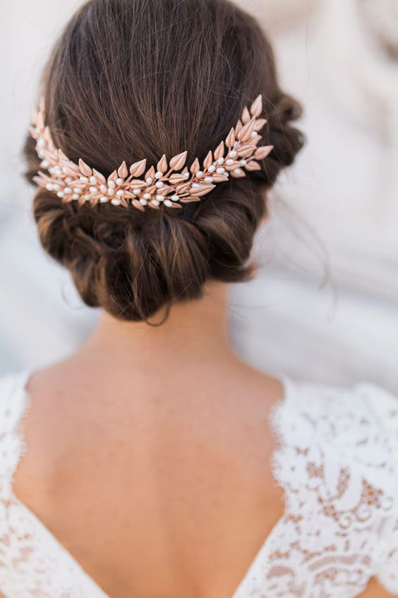 Copper Hairpiece