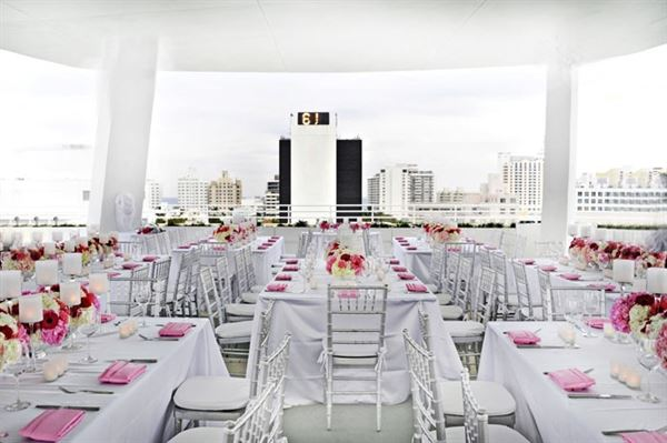 Rooftop Summer Weddings