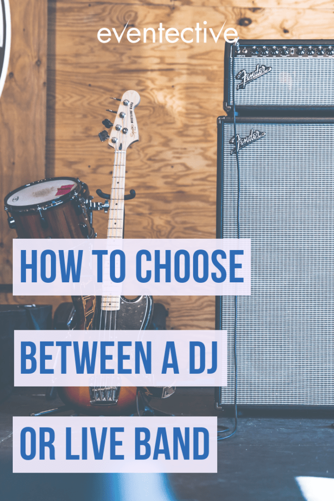 How to Choose Between a DJ or Live Band
