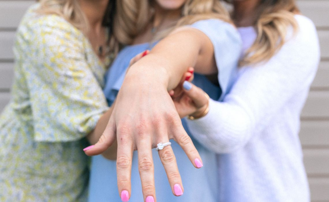 Out-of-Town Bridesmaids Engaged