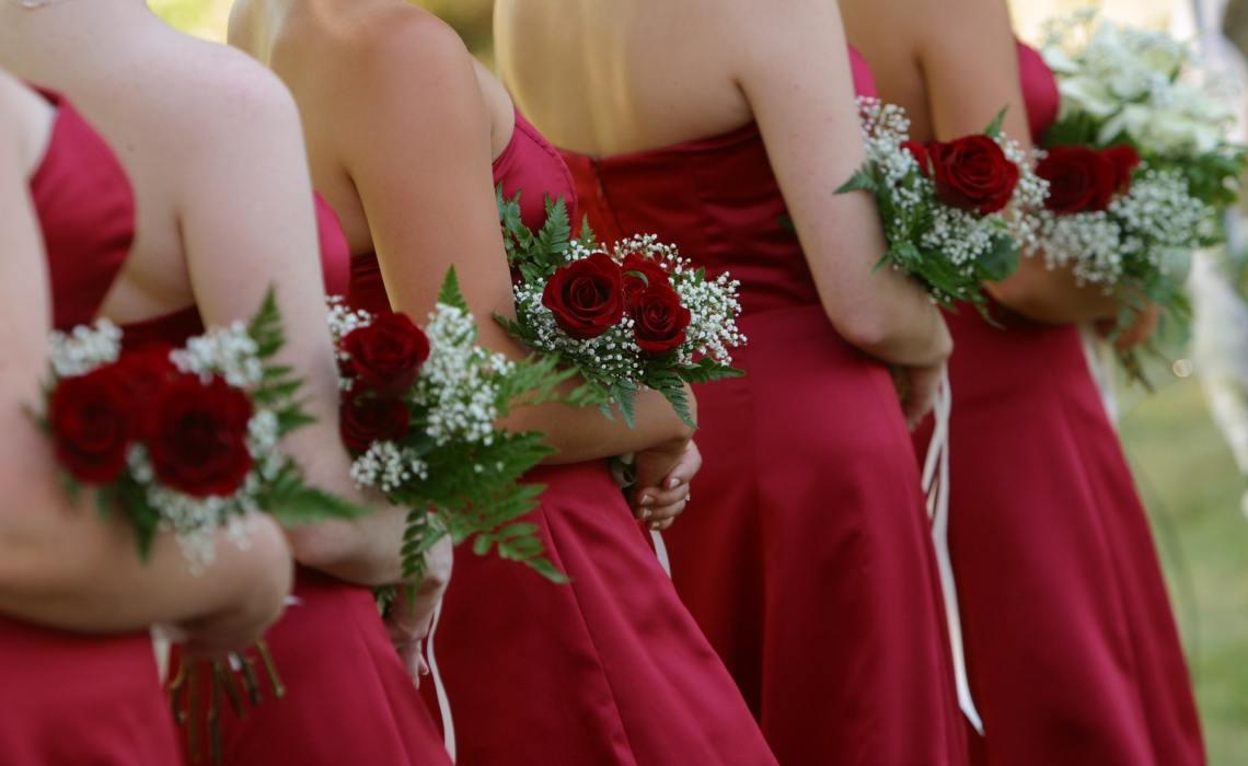 Bridesmaid Wedding Party Dress