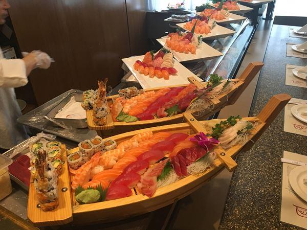 Venues in Boston Feng Shui Sushi Hibachi Lounge