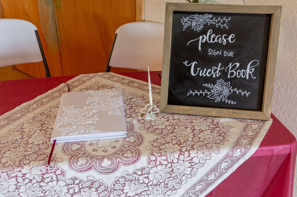 Digital RSVPs Viewing Guest Book