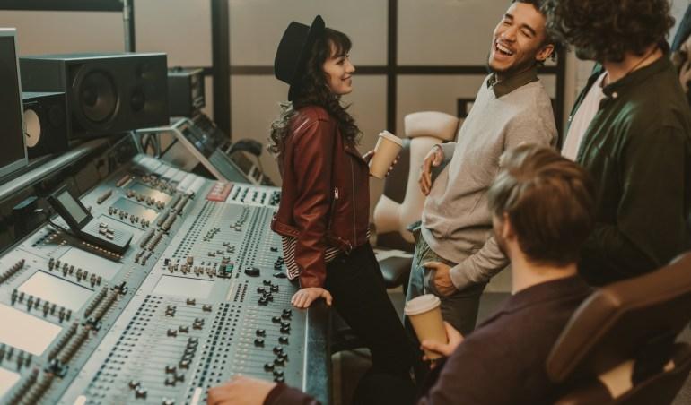 music recording jobs