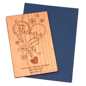 wooden mother's day postcard eve's addiction