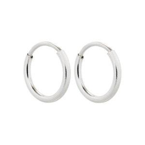 sterling silver hoop earrings for children