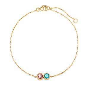 aunt and niece cz bracelet, aunt and niece cubiz zirconia bracelet
