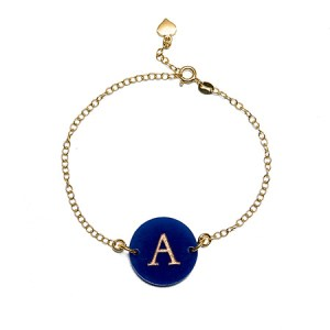 Customized aunt and niece bracelet and acrylic monogram bracelet