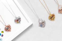 Mother's Day Birthstone Necklaces