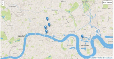 Adding another ByPlace location to a group in London