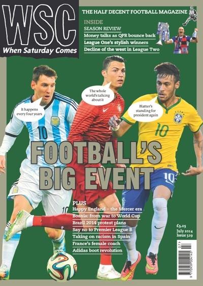 When Saturday Comes world cup edition