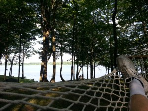 My view from the hammock