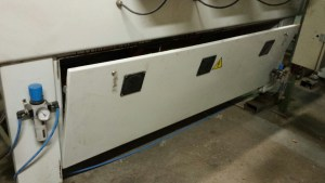 Current cooling solution for cabinet