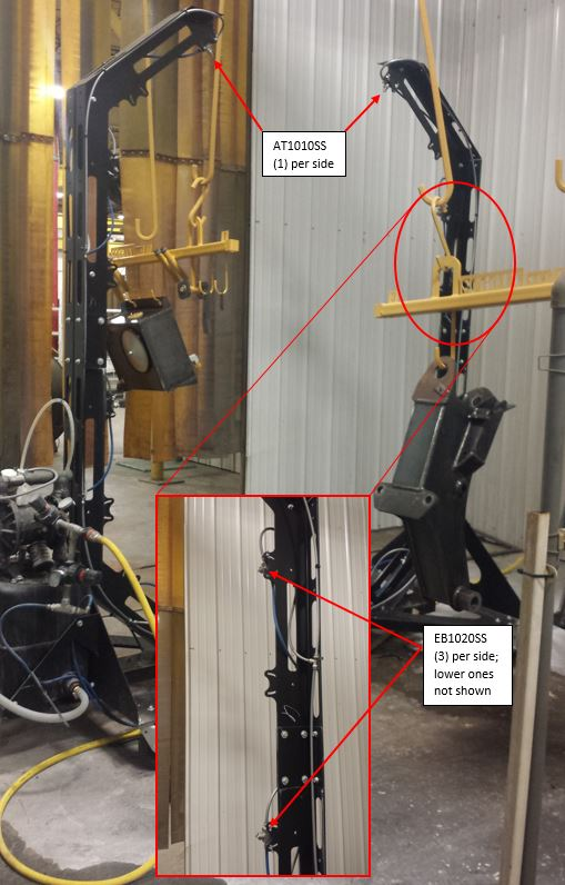 EXAIR Atomizing Spray Nozzles provide efficient, reliable coating.