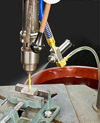 No Drip Siphon Fed Round Pattern Atomizing Nozzle
