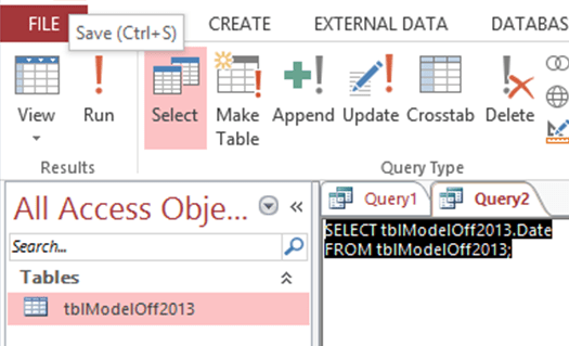 ModelOff 2013 Data Analysis problem - SQL View