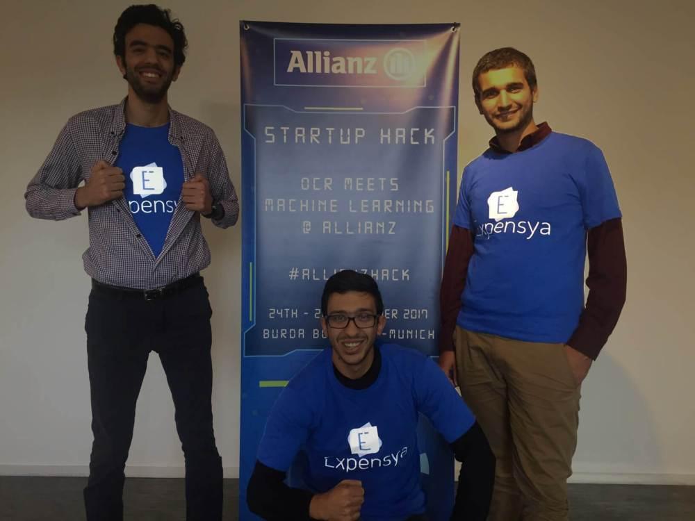 Expensya à l'Allianz Startup Hack 2017