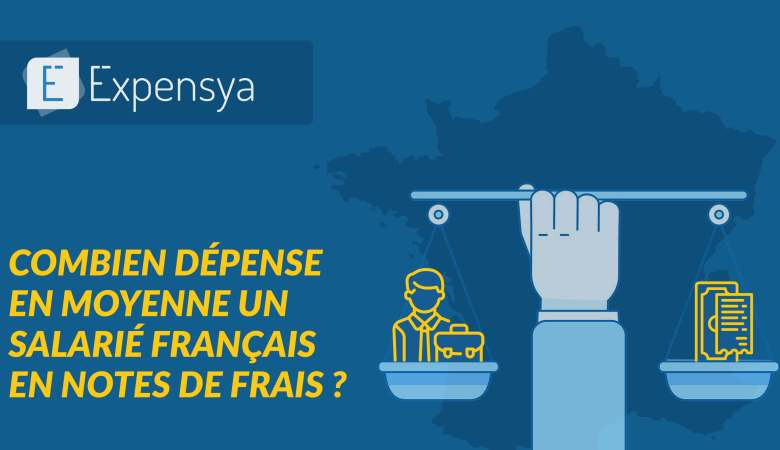 Les dépenses moyennes passée en notes de frais en France