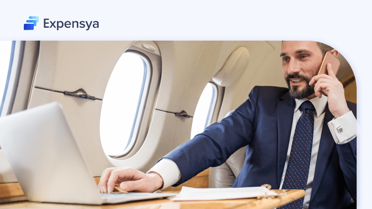 employee on business travel