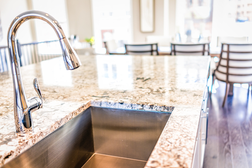 you install a kitchen faucet yourself