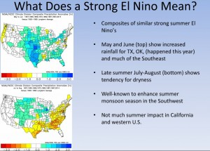 zierden strong el nino impacts