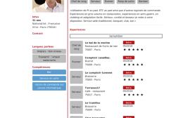 Le CV en ligne Extracadabra