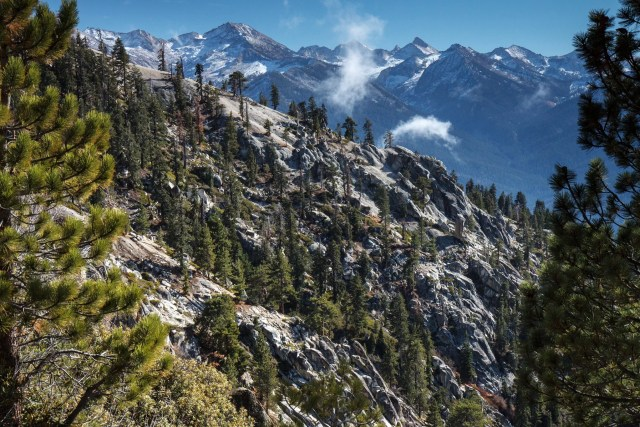 High Sierra Trail in Sequoia National Park