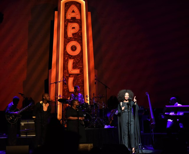Performance at Apollo Theater in Harlem, NYC