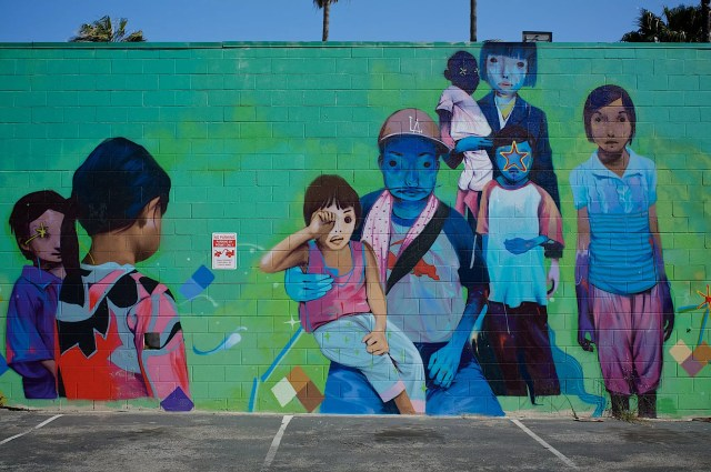 Mural in Culver City, Los Angeles