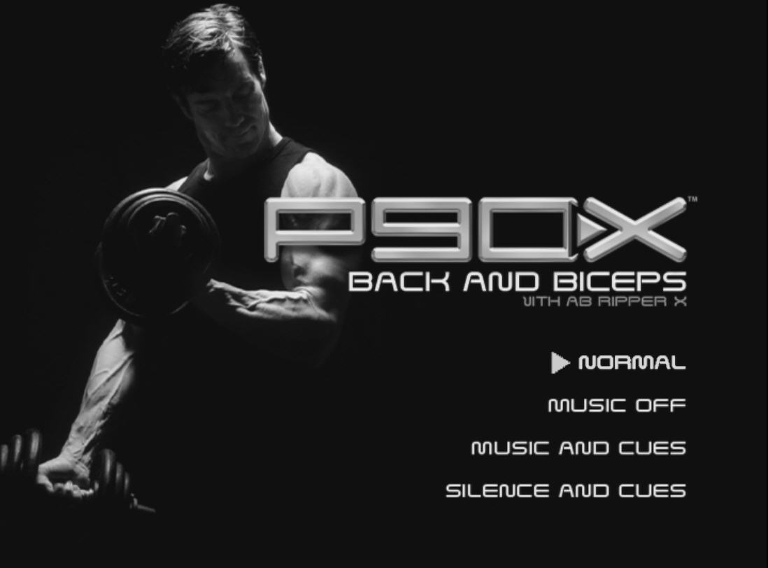 P90x Back And Biceps