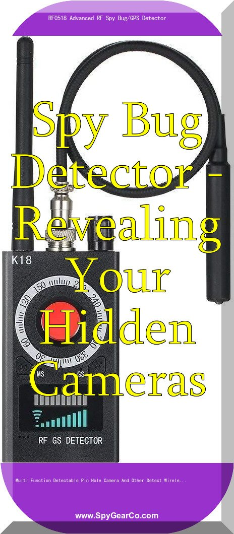 Spy Bug Detector – Revealing Your Hidden Cameras