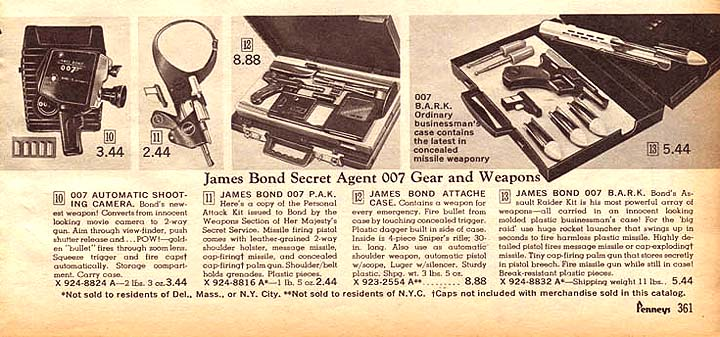 What Cameras did the World's Greatest spy James Bond use?