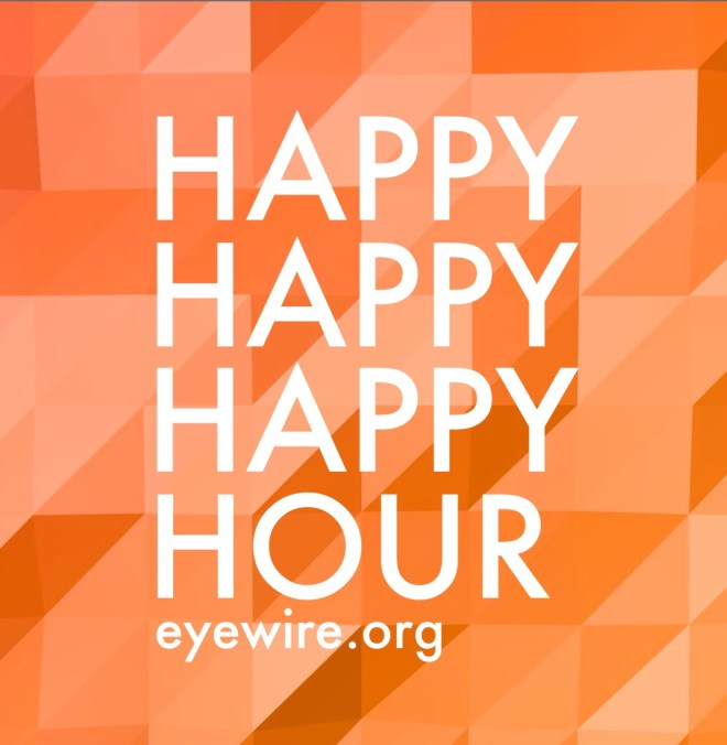 happy happy happy hour eyewire, low poly, eyewire