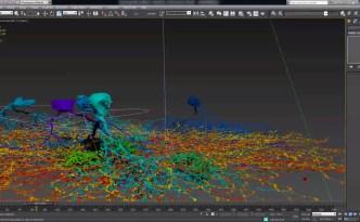 eyewire brain autodesk virtual reality tour screenshot, eyewire, neurons