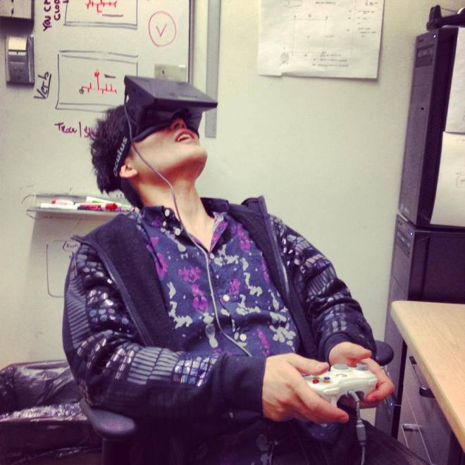Sebastian Seung in Oculus rift, Oculus Rift, Sebastian Seung, MIT, EyeWIre