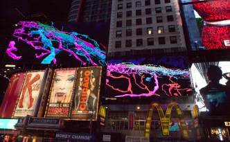 Sara Kerens, November Midnight Moment, EyeWIre TImes Square