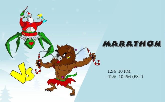 Mecha Santa VS Werewolves_Artboard 20